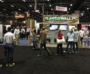 Trade Shows / The Artis Wall team traveling to different trade shows across America demonstrating Artis Wall and show casing new products!
