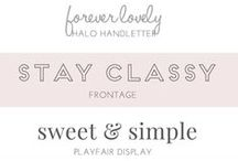 Design and Fonts / by Ryann Laden
