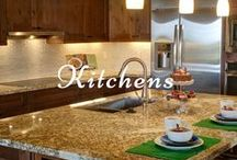Kitchens / TAGS: kitchen, renovation, marble, quartz, granite, cooking, cook, food, decor, home, pantry, plates, cups, dishes, design.