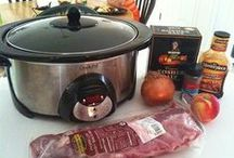 Crockpot / Slow cooker meals / by Maritza Rosales