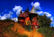 Amazing Places / Exteriors, outdoors, funky environments / by Shanley Wells Rau