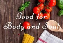 Food for Body and Soul / TAGS: food, recipes, wellness, body, soul, hospitality, scripture, home, heart, family, gathering, invitation.