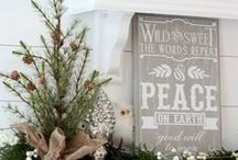 Christmas / Rustic, natural, faded Christmas / by Cindy Forrester