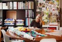 Studio / Workspace / Inspiring spaces to create in...