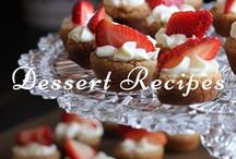 Dessert Recipes / TAGS: recipe, recipes, food, candy, chocolate, cake, pie, caramel, frosting, vanilla, cinnamon, sugar, butter, cupcakes.