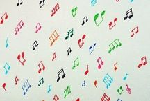 Music / Songs for PreK that I can play.  / by Stacey Cloke Perry