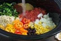 Food - Vegetarian Slow Cooker / by Ryann Laden