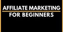 Affiliate Marketing for Beginners / The perfect resources of pins to kick start your affiliate marketing business and build Passive Income on the go! Check out the guide for easy step-by-step affiliate marketing to generate passive income | Easy Beginner Affiliate Marketing | Make Money Blogging | step by step affiliate marketing for beginners | affiliate marketing tips |