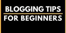 Blogging Tips for Beginners / Everything you need to know about blogging included - How to start a blog, choose the right #webhost, write winsome content, logo and course creation tips necessary to grow your blog.  | blogging for beginners | blog post ideas | blogging for beginners posts ideas