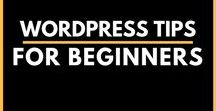 WordPress Tips for Beginners / Want to customize your WordPress Website? Find out Everything you need to know about WordPress in this board. WordPress Tutorials + Tips for Beginners: 301 Redirect In Wordpress, Add A Cool Contact Form In Wordpress, Add A Author Box Within Your Posts In WordPress, HOW-TO: Display Latest Blog Posts In Your Sidebar In Wordpress, Show Recent Comments To Your Sidebar In Wordpress Easily Add Pagination In Wordpress, and more | WordPress for Beginners | wordpress for beginners step by step tutorials