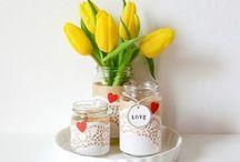 i love mason jars / inspiring crafts to make with mason jars