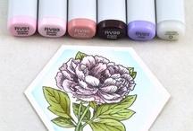 Copics & Coloring