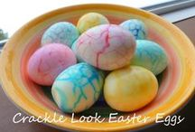 Holidays - Easter / Everything Easter! Decorations, activities, crafts and recipes!