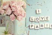 Pink & Paris Inspiration / by By Invitation Only Blog
