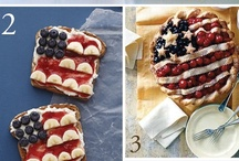 Holidays - Fourth of July / Everything about the fourth of July. Recipes, decorations, crafts and activities.