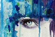 "~ I'm feelin ""Blue"" today ~ / by Soo Heath"
