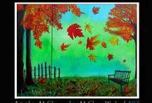 My Paintings / My acrylic paintings.  Feb 2013  - Feb 2014 All works ©2014 Lisa McClowry http://www.lisamcclowryART.com