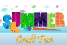 Kids - Crafts Fun / This board is full of great craft ideas for kids ages 10 and under. Most of these crafts can be done year-round.