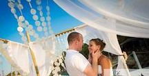 Real Wedding in Zante | Charlene and Gerards Beach Wedding in Zakynthos / This beautiful wedding took place at Terrazzo Beach in Zakynthos on the 19th of August