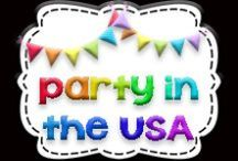 Party in the USA / First grade America unit