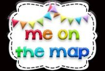 Me on the Map / First grade maps unit