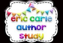 Eric Carle Author Study / Study of author Eric Carle and his amazing picture books!!!