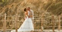 Real Wedding in Zante | Leah and Adam's private island wedding / Cameo island sits just off the coast of Zante connected to the mainland why a wooden walkway. A perfect fairytale setting for your wedding in Zante