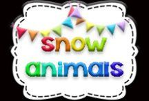 There's SNOW Animals Like These! / Polar animals unit: Penguins, polar bears, reindeer
