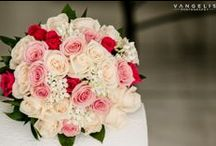Greece Wedding Flower Inspiration / A collection of bridal bouquets, bridesmaids bouquets and buttonholes from weddings in Greece by The Bridal Consultant