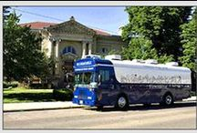 Bookmobile / The PPL bookmobile travels throughout Scioto county providing books for  patrons and schools.