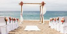 A Real Wedding in Crete | Christina and John's Coral Crush Beach Wedding in Crete / Here is a sneak peek of the stunning photographs from Christina and John's Rethymno Beach wedding in Crete which took place on the 12th of May 2014.