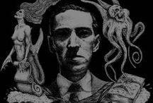 ♆ Lovecraft's Myths / Howard Philips Lovecraft (1890-1937), various art, cthulhu myths and other tales. / by Ămunet