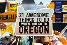 EXPLORING Oregon Doing's / Lookin' for something to do? / by Diane Salter