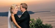 Real Wedding in Santorini | An elegant affair on the Greek Island of Santorini / Rachel and Fraser's beautiful wedding day at The Rocabella Hotel in Santorini