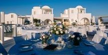 Real Wedding in Santorini | A breathtaking wedding on the Greek Island of Santorini / Our lovely couple Lizzie and John married at The Rocabella Hotel on the 30th August 2014