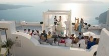 Real Wedding in Santorini | An elegant white wedding in Santorini / Gorgeous photographs from Jo and Michael's Dana Villas wedding in Santorini.  Last week we shared their wedding story, if you haven't already read it here - http://www.thebridalconsultants.com/real-santorini-wedding-jo-and-michael-2015/  The wedding took place on the 22nd of August 2015.