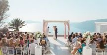 Real Wedding in Santorini | Alex & Oliver's blush pink wedding at Le Ciel & Maltese Hotel Santorini / Beautiful photographs taken from Alexandra and Oliver's wedding day. The couple married in Santorini on the 17th of August 2015 and the whole day was captured beautifully by photographer Anna Roussos. We have recently caught up with the bride who shared with us all of the details from their special so if you haven't already read all about it here - http://www.thebridalconsultants.com/real-santorini-wedding-alex-and-oliver-2015/