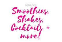 Smoothies, Shakes, Cocktails + more! / Cocktails. Drinks. Shakes. Fun drinks to enjoy.