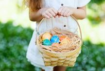 Easter Ideas / Easter is Sunday, April 16, 2017. Our lovely collection of Easter inspiration includes recipes, decorations, crafts, Easter egg dying ideas & more. #easter