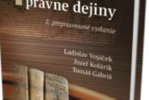 Naše knihy - právo/ Our books - Law
