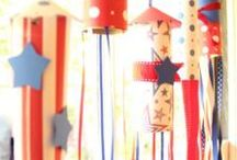 Fourth of July / Fourth of July recipes, crafts, decorations & more! #4thofjuly #fourthofjuly