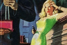 Book covers-pulp and noir