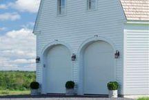 old barns & churches
