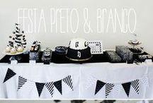 Ideas para Fiestas en B&N / Ideas y productos para celebrar fiestas en blanco y negro / by Fiestas Coquetas