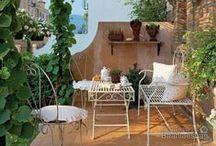 Patio / garden and patio ideas