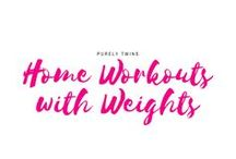 Home Workouts with Weights / Workouts that use free weights (dumbbells) and kettlebells to build muscle and strength. To burn fat you need muscle so don't be afraid to pick up those weights.