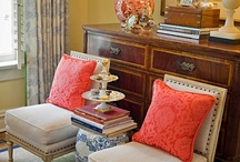 Home is where the heart is. / Room design, curb appeal, furniture, or anything to do with a house.