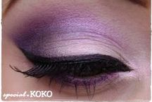 Cosmetics - (Inspiration) / Makeup.  / by Brittany Smith