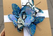 make a gift and wrap it / DIY gifts and ways to wrap gifts