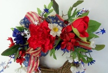Front door wreaths / by Angels n Everlastings Beach Home Decor